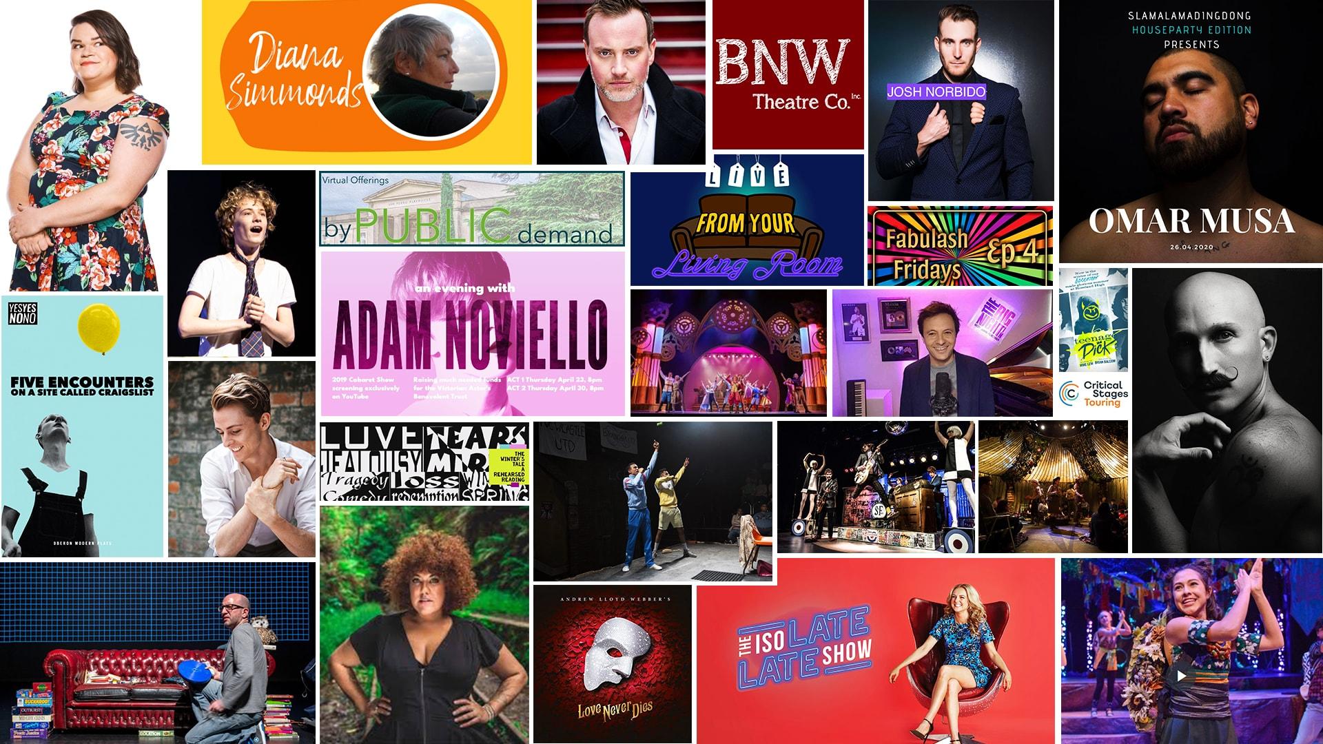 Stage & Stream Australia – Streaming Theatre & Cabaret