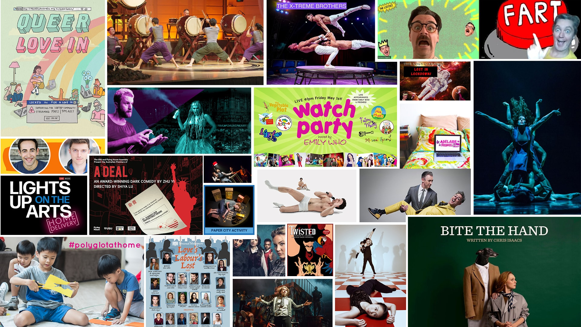 Stage & Stream – Streaming Theatre & Cabaret May 1st