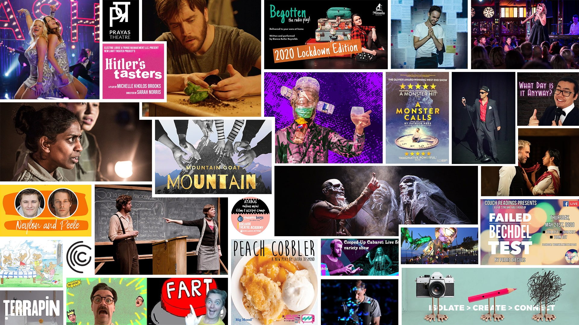 Stage & Stream – Streaming Theatre & Cabaret – May 15-21