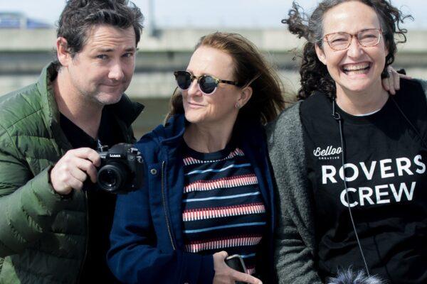 Shaun Charles, Caroline Dunphy and Katherine Lyall Watson. Image by Barbara Lowing