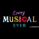 Black square with text reading 'every musical ever'.