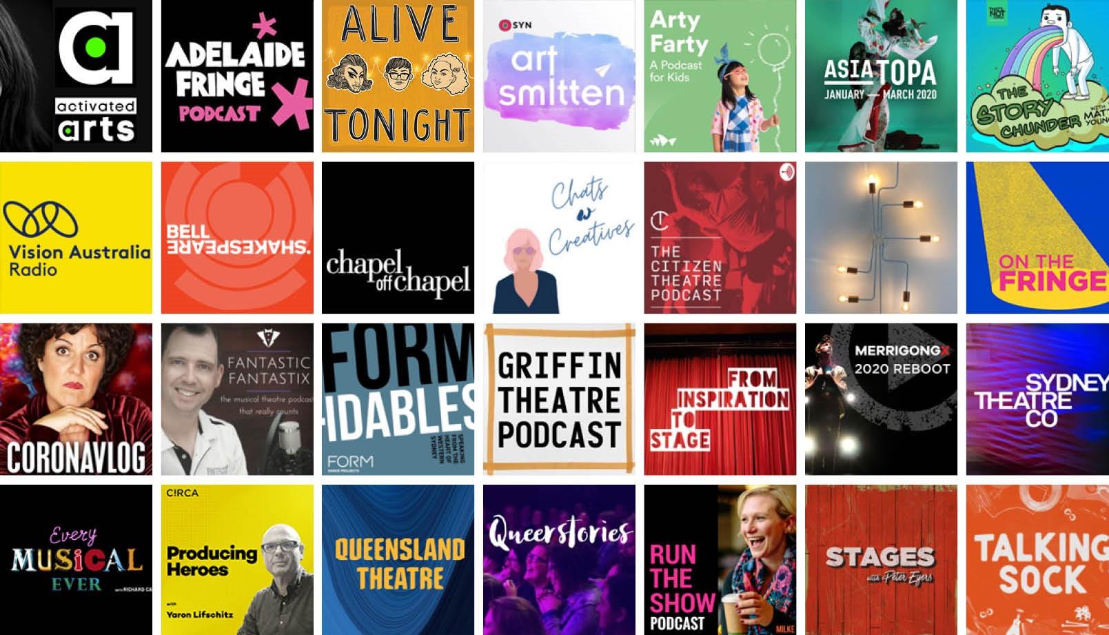 Australian Theatre Podcast Guide