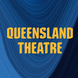 """Text reading """"Queensland Theatre"""" in a bold all-caps font"""