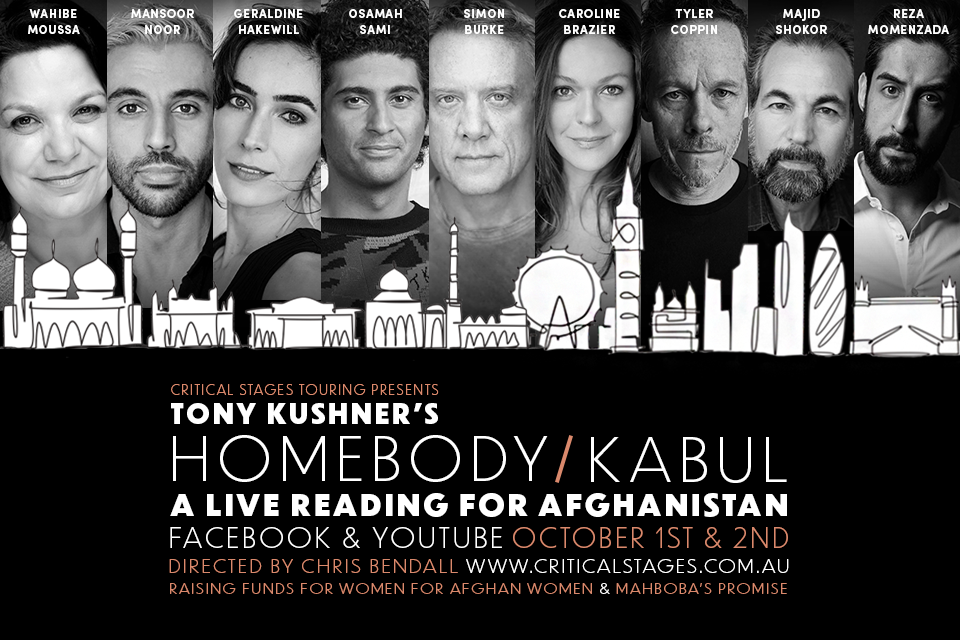 Critical Stages Touring Presents Livestreamed Reading of Tony Kushner's HOMEBODY/KABUL